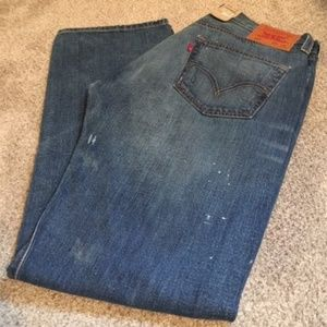 Men's Levi's 501 Button Fly Jean